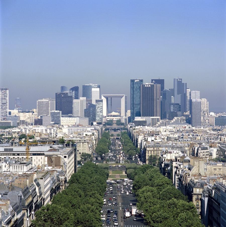 La nuova architettura di parigi la villette e la defense for Architettura a parigi